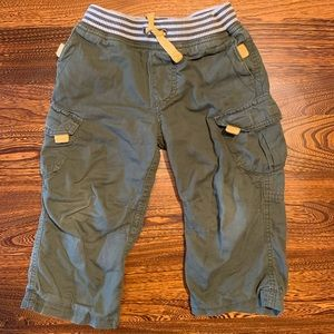 Hanna Andersson Size 90, 2T Cargo Pants
